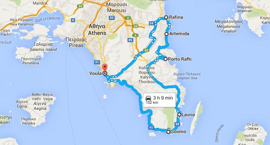 peninsula Attica