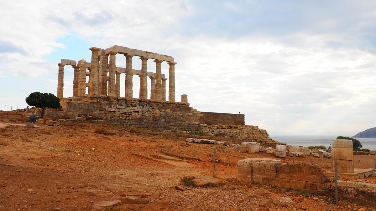 Trei zile in Atena. Sounio
