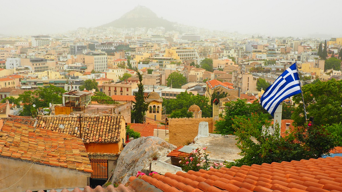 Trei zile in Atena. Plaka