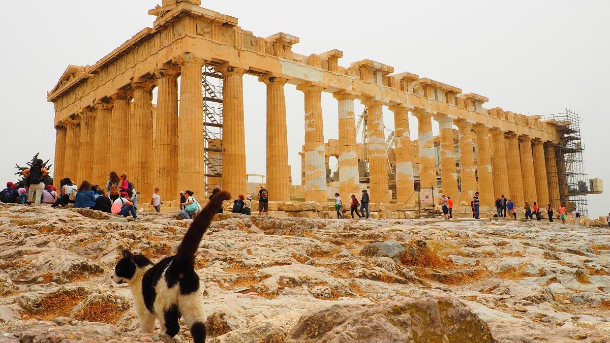 Trei zile in Atena. Acropole