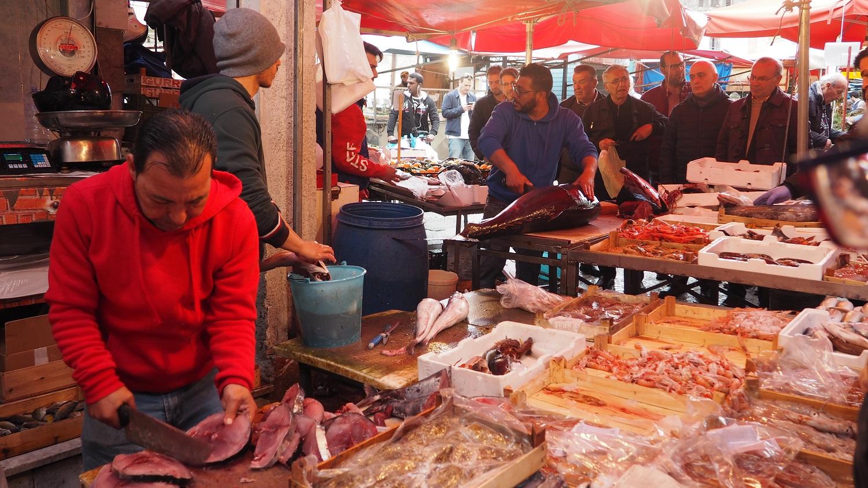 Piata de peste din Palermo